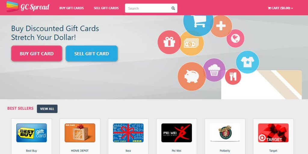 sell gift cards for cash instantly near me